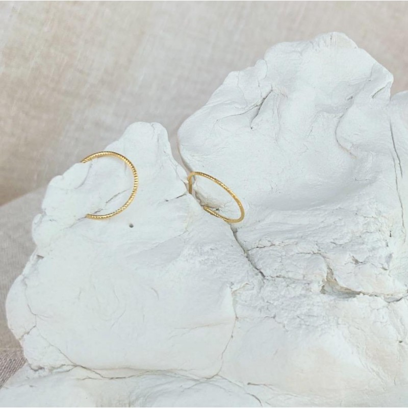 Delicate hoops | Gold