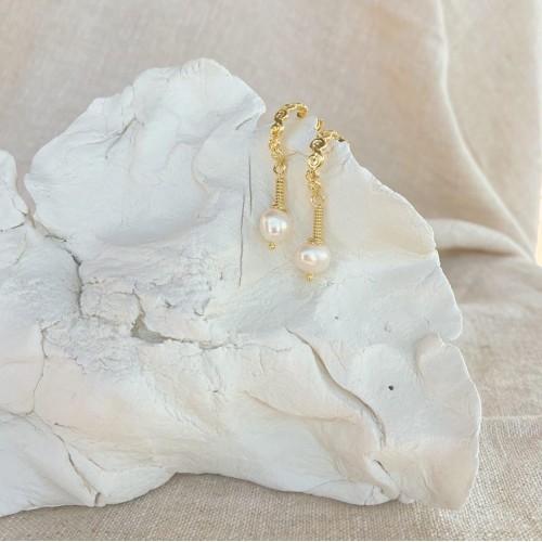 Grandma's earrings | Gold