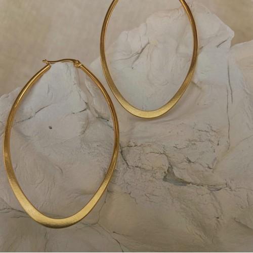 Hip hoops | Gold