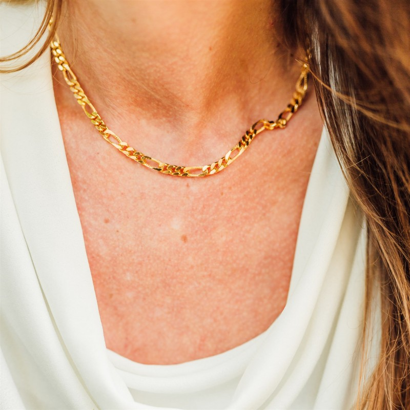 Bengal necklace | Gold