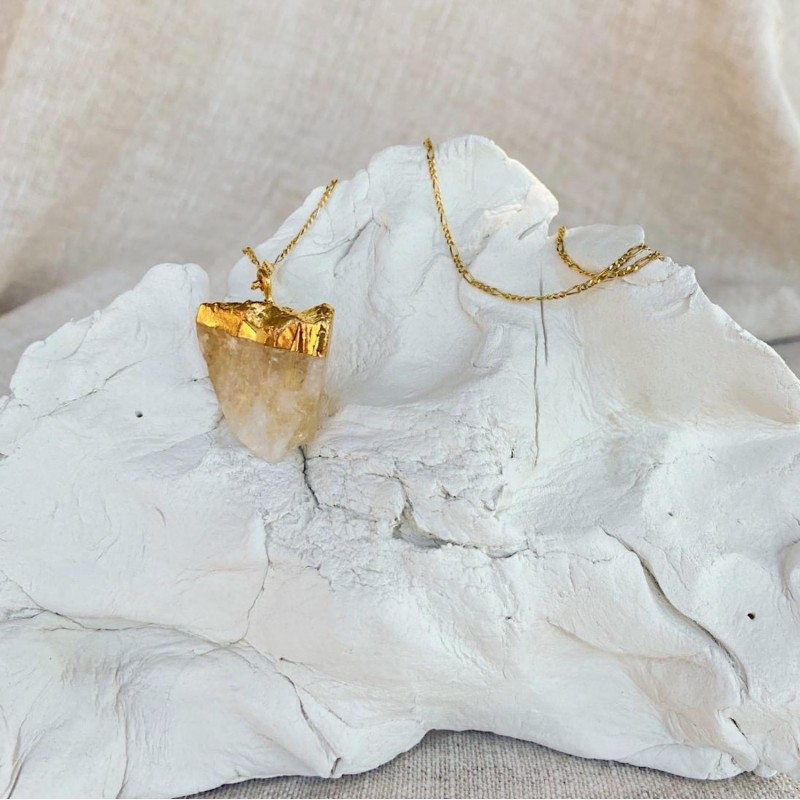 To feel good necklace | Gold