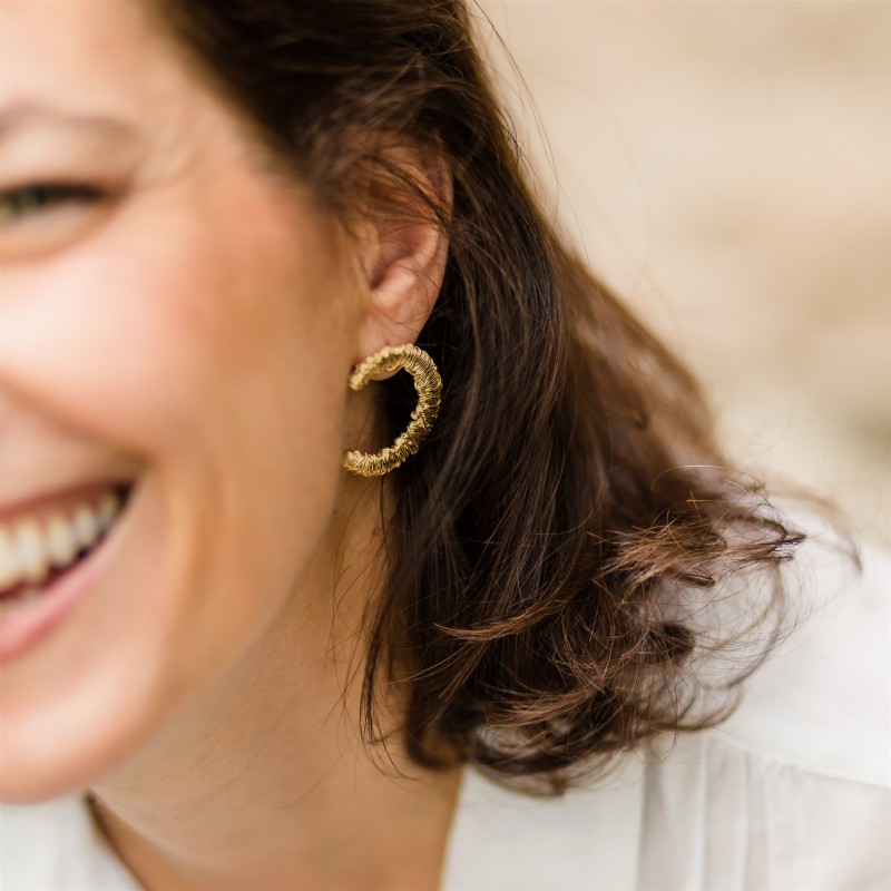 Stupendous earrings | Gold