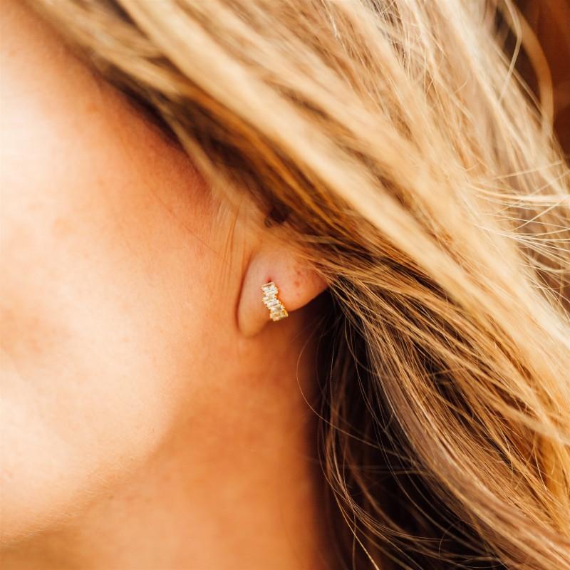 Lady earrings | Gold