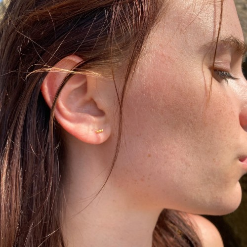 Orion's earrings | Gold