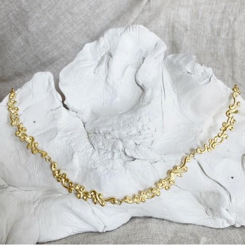 Pretty necklace | Gold