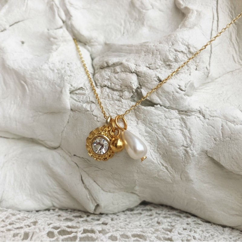 Diva's necklace | Gold