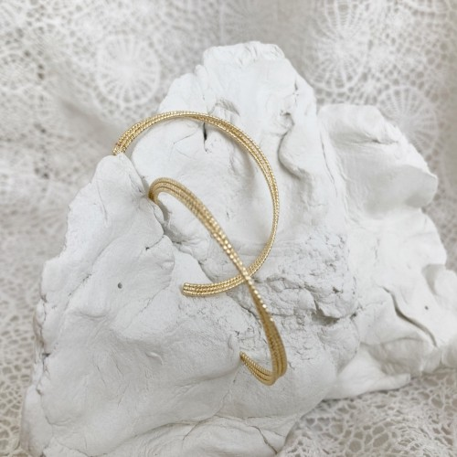 Triumph hoops | Gold