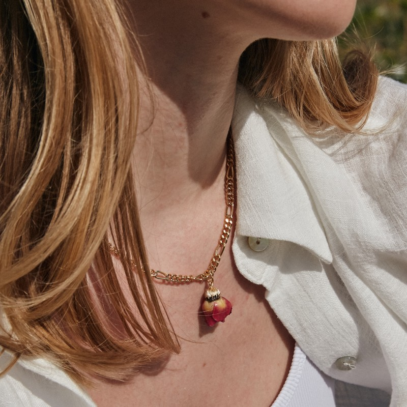 Pure life necklace | Gold