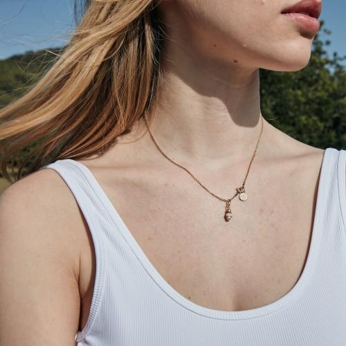 Palpa necklace | Gold