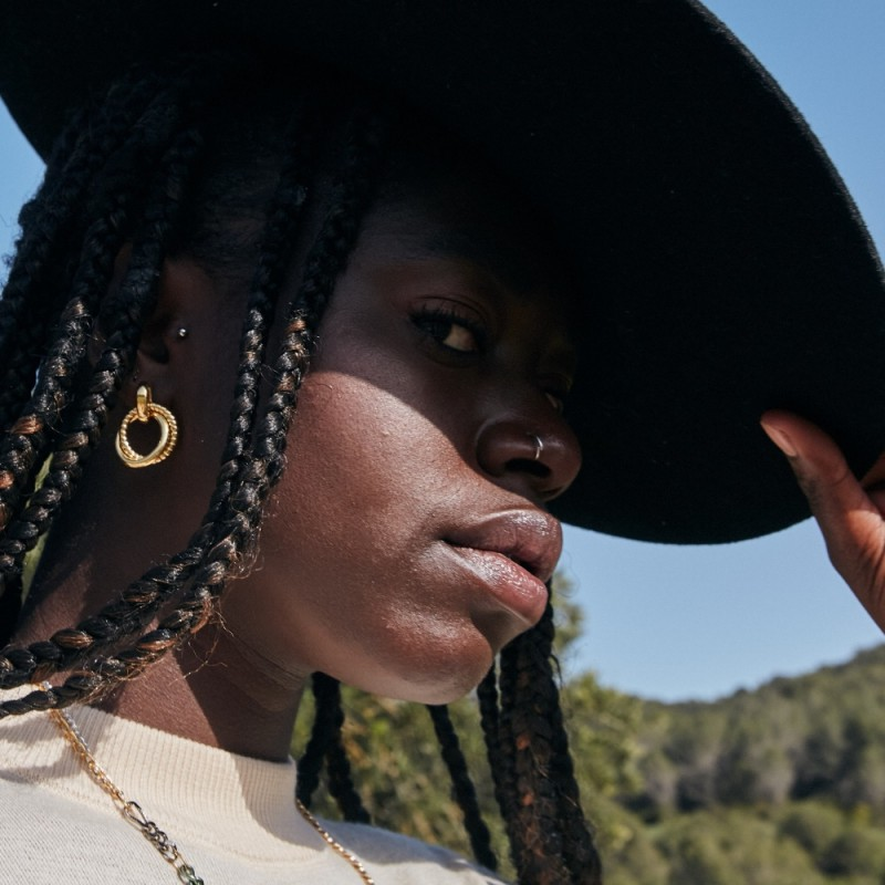 Bendita earrings | Gold