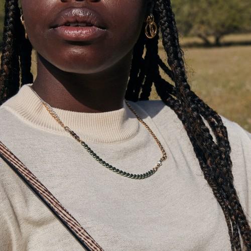 Cocoro Necklace | Light Green
