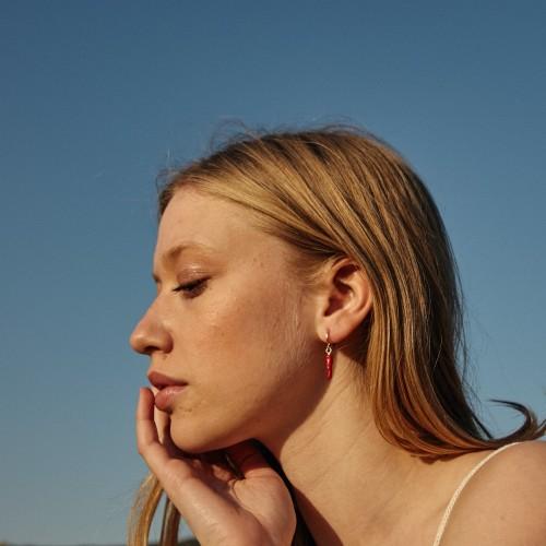 Y un pimiento Earrings| Gold