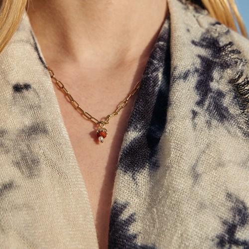 Hojarasca necklace