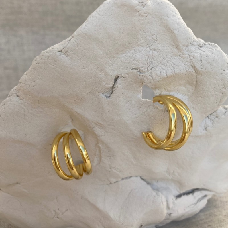 Entirety earrings | Gold